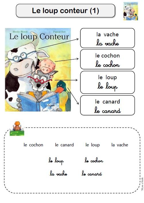 Le Loup Conteur Titline 224 L 233 Cole